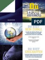 DU BIST - Das ebook über Gott, Jesus die Bibel und DICH - Ein Traktat zum Weitergeben