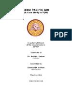Final Paper Cebu Pacific