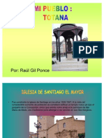 Raúl GIl Mi Pueblo Totana