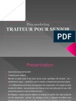 Traiteur Pour Senior (plan marketing)