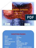 Case Carcinoma Thyroid