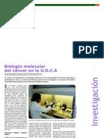 Investigación - Biología Molecular del Cancer en la U.D.C.A