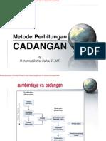 PERHITUNGAN CADANGAN-4
