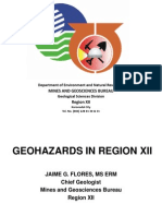Region XII Geohazards