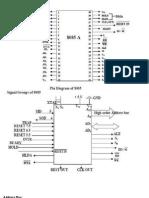 Pin Diagram of MPU 8085