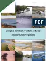 Ecological restoration of wetlands in Europe