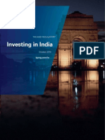 Investing in India - Tax & oct 2010