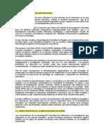CONCEPTO DE INVESTIGACIÓN EDUCATIVA