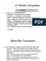 Summary Bead Bar