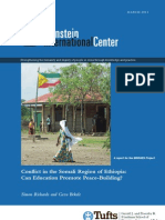 Conflict in the Somali Region of Ethiopia