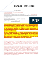 REGOLAMENTO 2011-2012