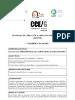 Propuesta Proyecto ACERCA Convocatoria 1