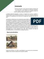 Historia de Venezuela e Identidad Nacional