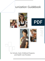Utah Immunization Guidebook 2011-2012