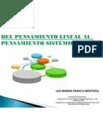 DEL PENSAMIENTO LINEAL AL PENSAMIENTO SISTÉMICO - ITMversion2