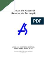Manual Do Assessor Pessoal Formacao