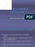 Salter Harris Fracture Alex Duckworth
