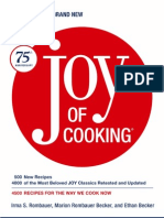 Joy of Cooking by Irma S. Rombauer, Marion Rombauer Becker and Ethan Becker