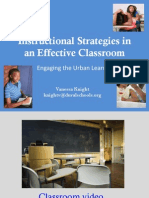 Instructional Strategies in an Effective Classroom (ELA-UI 2011 Knight)