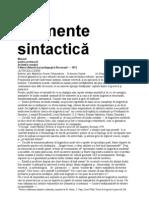 Sorin Stati - Elemente de Analiza Sin Tactic A