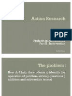 Action Research Part II