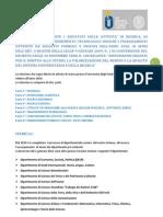 """Attività di ricerca presso l'Università degli Studi di Urbino """"Carlo Bo"""" relative all'anno 2010"""