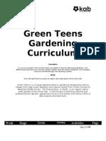 Green Teens Gardening