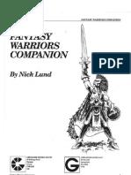 Fantasy Warriors Companion