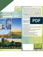 Flyer - Programa de Férias Montréal Janeiro 2012