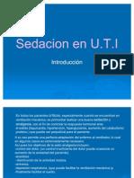 Sedacion en Uti Presentacion