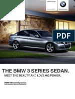Ficha Tecnica BMW 335iA Sedan Automatico