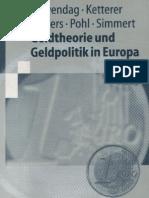 Duwendag, Ketterer, Kösters, Pohl, Simmert - Geldtheorie und