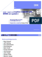Tape Encryption and BRMS on System i