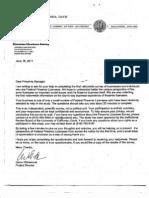 Anti Gun Firearms Survey Cover Letter