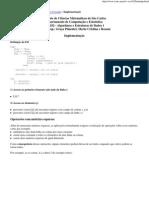 TI - Matriz Esparsa e Lista Cruzada implementação
