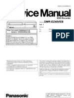 Panasonic DMR-EZ48 Service Manual