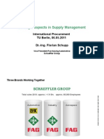 Strategic Aspects in Supply Management Florian Schupp 06.05