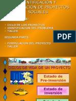 IDENTIFICACION DE PROYECTOS