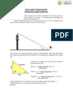 Guía sobre Trigonometría