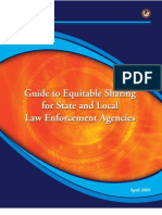DOJ Guide to Equitable Sharing of Asset Forfeiture