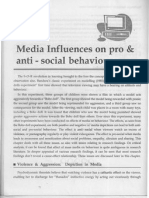 Chapter-15(Media Influences on Pro &Anti - Social Behaviour