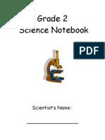 Science Notebook Grade 2