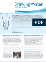 DC Water Drinking Water Quality Report 2010_R01