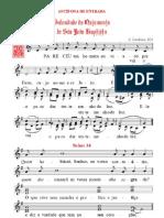 Cânticos da Missa do Nascimento de São João Baptista