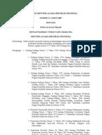 PMA11-2007 Pencatatan Nikah