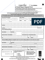 Annual Credit Report Request Form