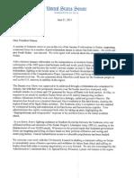 Letter to President Obama on Sudan