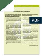 Declaracion de Principios y Compromisos
