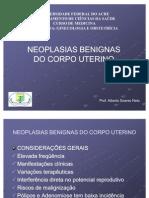 Ginecologia - D. Benigna Do Corpo Uterino - Dr Alberto - IV Turma