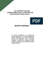 Practicas de Electronic A Analogica i